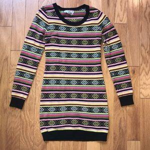 Body Central Sweater Dress sz SM